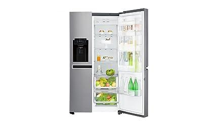Side By Side Kühlschrank Mit Wassertank Und Barfach : Lg electronics gsj pzuz side by side kühlschrank a