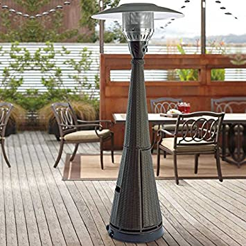 Andersen U0026 Stokke Resin Wicker LP Gas Patio Heater
