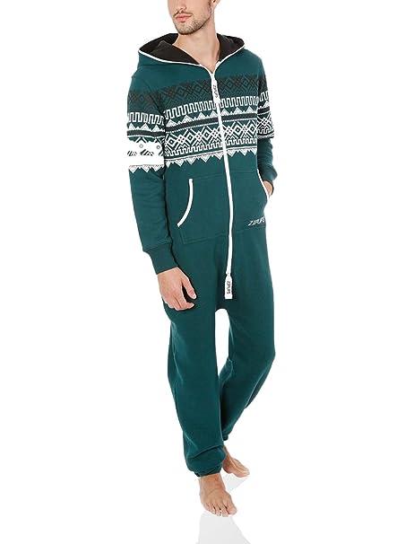 Zipups Mono-Pijama Scandinavia Verde Oscuro XS