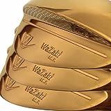 wazaki Japan 14K Gold M PRO Forged Soft Iron USGA R A rules of Golf Club Wedge Set(pack of three)