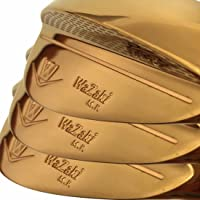 Japan Wazaki 14K Gold M PRO Forged Soft Iron USGA R A Rules of Golf Club Wedge Set(Pack of Three)