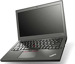Lenovo ThinkPad X250 Intel i5-5300U 2.30GHz 8GB RAM 256GB SSD Win 10 Pro Webcam (Renewed)