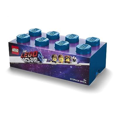 Room Copenhagen Brick 8 Storage Box, One Size, Movie 2 Blue: Home & Kitchen
