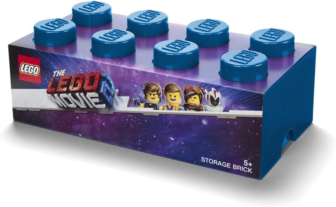 Room Copenhagen Lego Movie 2 Brick 8 Caja de Almacenamiento, Azul ...