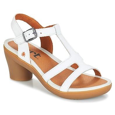 65fae480cefa20 Art Nu Pieds Femme Blanc: Amazon.fr: Chaussures et Sacs