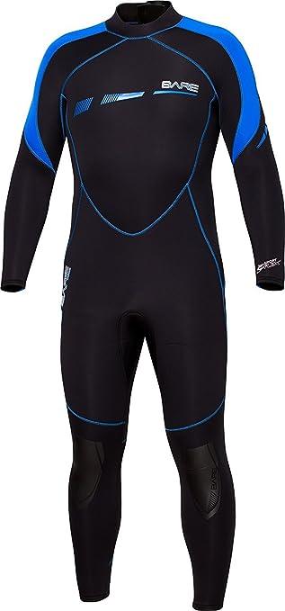 7mm Bare Elastek Women/'s Full Stretch Scuba Diving Wetsuit Size 14 Cold Water