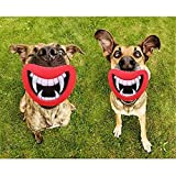 Hangqiao Funny Pet Dog Teeth Silicon Toy Puppy Chew Sound Novelty Dogs Play Toys