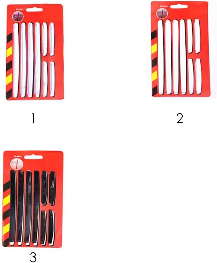 Autozubeh/ör 1 Satz Auto-Seitent/ür-Kantenschutz Autot/ür-Kantenschutz Auto-Kratzstreifen Anti-Kratz-DIY-Schutzstreifen