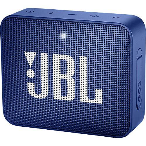 JBL GO2 Waterproof Ultra Portable Bluetooth Speaker - Blue - JBLGO2BLUAM