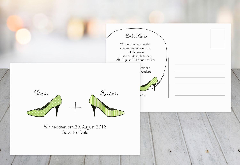 Save-the-Date High Heels, 30 Karten, Karten, Karten, RosaRosa B07B6NB5GJ | Erste Gruppe von Kunden  | Erste Gruppe von Kunden  | Qualifizierte Herstellung  0049e8