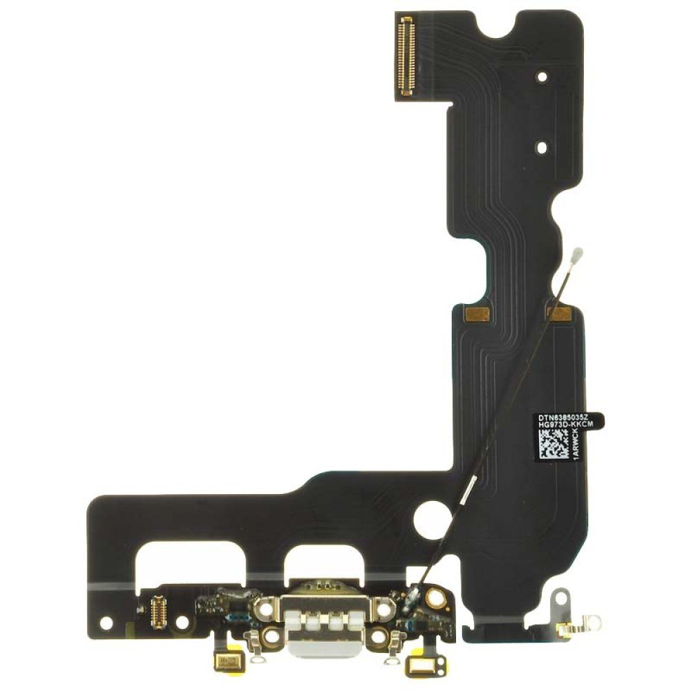 Flex Cable (Charge Port, Mic, Antenna) for Apple iPhone 7 Plus (CDMA & GSM) (Light Gray) with Glue Card