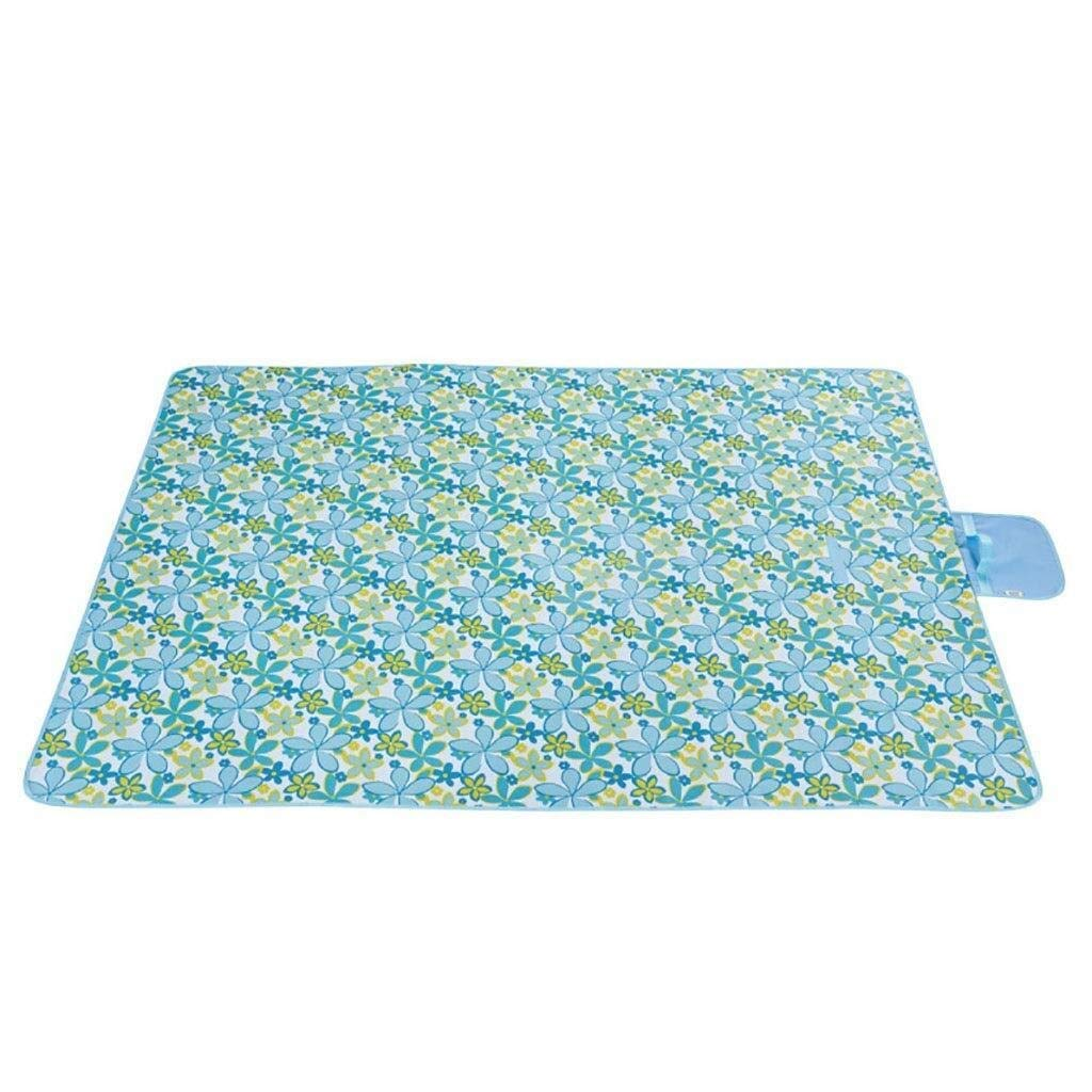 ZKKWLL Picnic Blanket Outdoor Folding Blanket Outdoor Picnic Blanket Picnic mat Moisture-Proof Carpet Thick pad Oxford Cloth Lawn mat Portable Picnic mat Beach mat by ZKKWLL