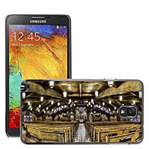 Hot Style Cell Phone PC Hard Case Cover // M00171249 Church Sanctuary Christianity // Samsung Galaxy Note 3 III N9000 N9002 N9005