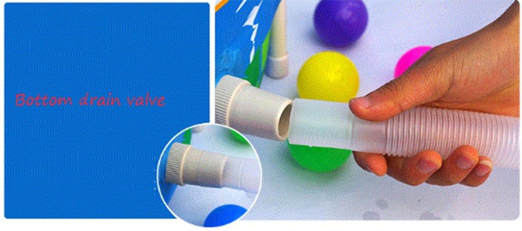 JPYG Inflatable Bathtub,Child Collapsible Bathbarrel Household Keepwarm Plastic Bathtub Portable (Color : #2) by JP bathtub (Image #5)