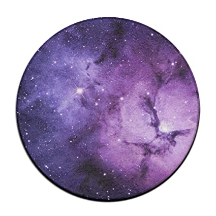 Exceptionnel Feimao Purple Space Galaxy Lion Anti Slip Round Chair Cushion Pad Stool  Slipcover 16 Inch