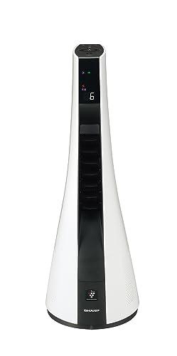 SHARPプラズマクラスター搭載ヒートイオンファンホワイト系PF-FTH1-W