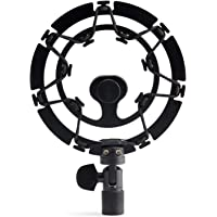 AUPHONIX PRO Black Shock Mount for Blue Yeti – Advanced Vibration Blocking, Noise Repelling Shockmount System for Blue…