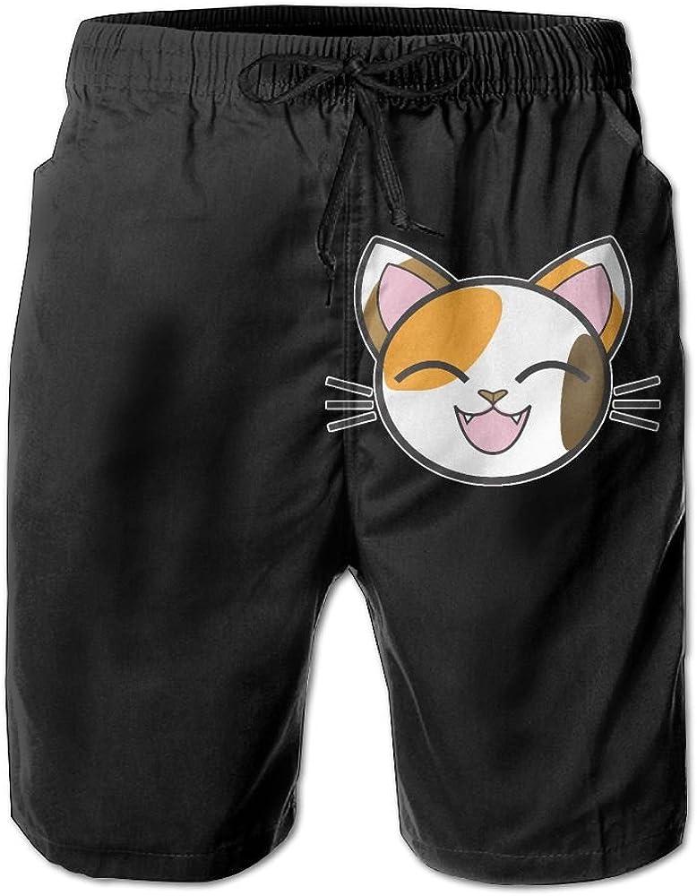 BSKZ@SH Mens Beach Shorts Fashion Ping Pong Master 100/% Polyester Elastic Waist Pants
