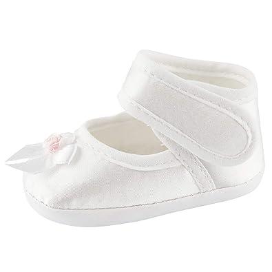 Taufschuhe Taufe Babyschuhe Baby Sandalen weiss 10,11,12,13 OM-004