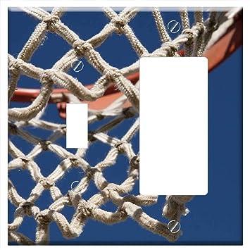 Cubierta para placa de pared - Red de aro de baloncesto sin filtro ...