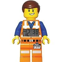 LEGO Movie Emmet - 9009945 - Réveil Mixte - Quartz Digital - Cadran LCD