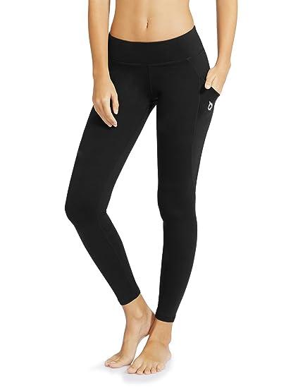 """8f4238945f7ff Baleaf Women's Yoga Workout Leggings Side Pocket for 5.5"""" Mobile Phone  ..."""