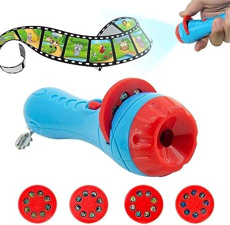 fervory Linterna Proyector Cuentos Infantiles Proyector Cuento ...