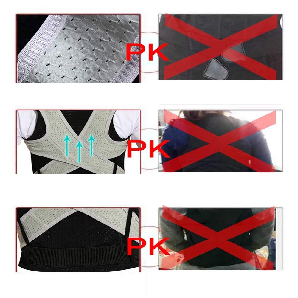 BLWX - Student Kyphosis Correction Adult Posture Correction Breathable Correction Clothing Men and Women Humpback Correction Belt (Size : M) by BLWX-Humpback correction belt (Image #5)