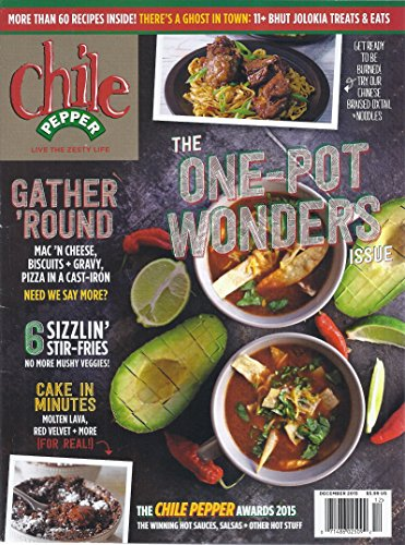 Chile Pepper Magazine December -