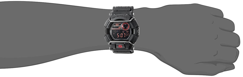 Casio GD400-1CR GD-400-1 - Reloj, correa de tela color negro: Casio: Amazon.es: Relojes