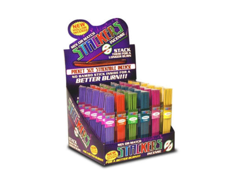 bulk buys Stackers Mix Or Match 多様なお香カウンタートップディスプレイ 36個セット B07HPG4TKD