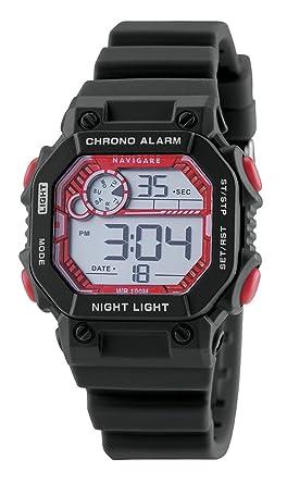 Reloj Navigare, cronógrafo Digital de niño, Idea regalo Comunión o confirmación, resistente al agua: Amazon.es: Relojes