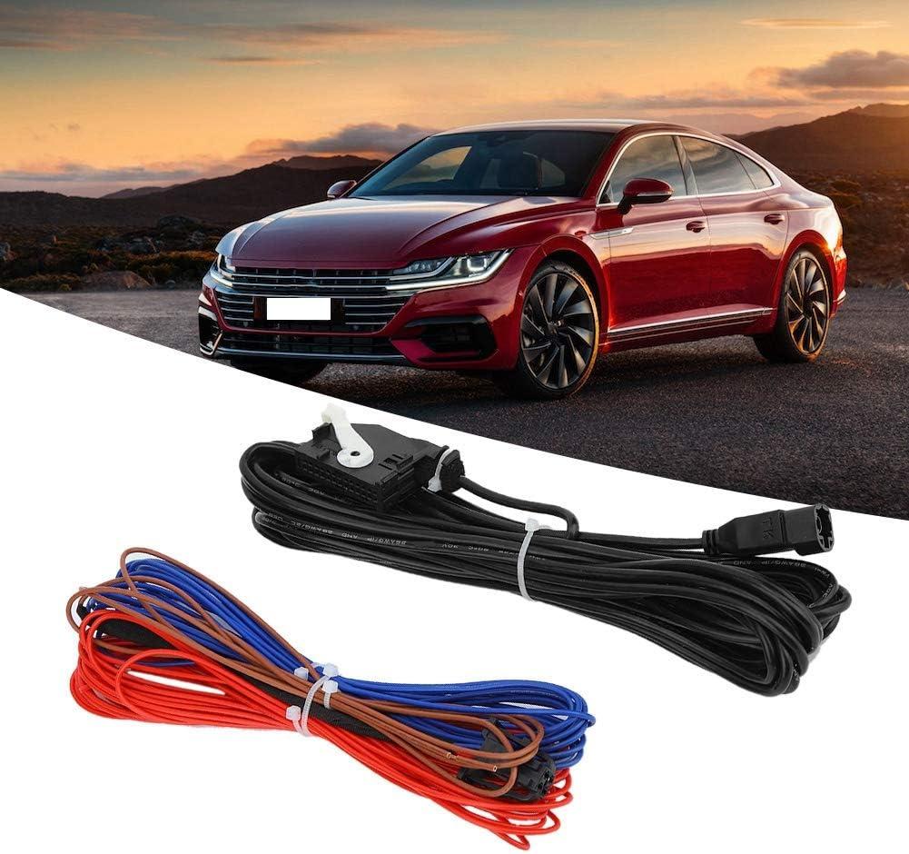 2 PCS Car RGB Rear View Camera Cable Socket Video Harness Fit for RNS315 RNS510 RCD510 Aramox RGB Camera Harness