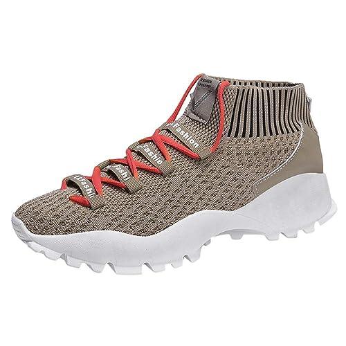 Zapatos Mujer Verano 2018 Sandalias Vestir Zapatos De Hombre Mesh Fly Woven Respirable Cómodos Zapatos Deportivos Zapatos Casuales: Amazon.es: Zapatos y ...