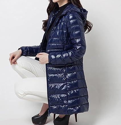 Salimdy Womens Lightweight Hooded Packable Down Plus Size Puffer Coat Jacket Outwear