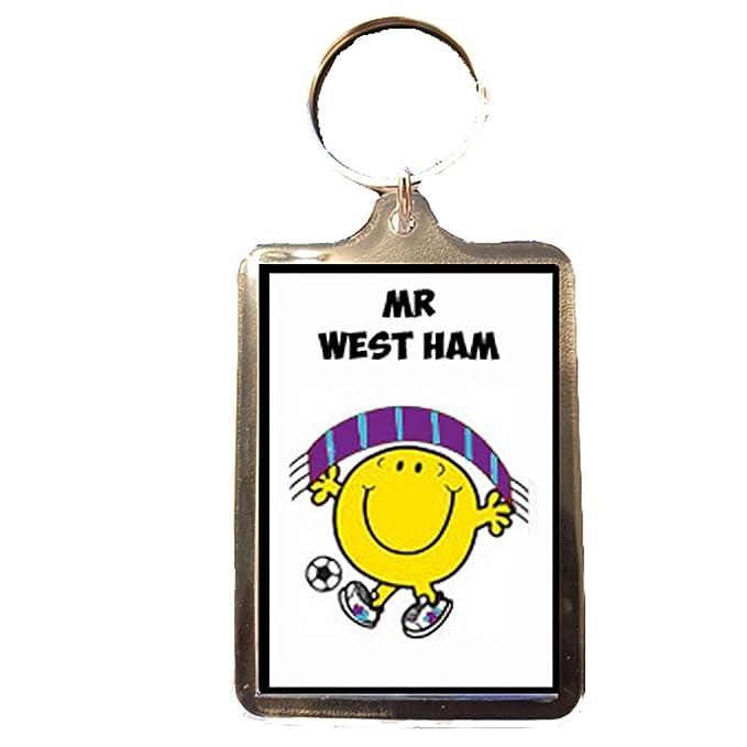 Footie Gifts West Ham United F.C - Mr Llavero de West Ham ...