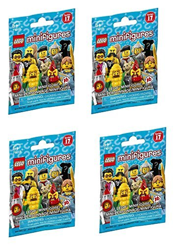 LEGO Minifigures Series 17 - Random Set of 4 Packs (71018)