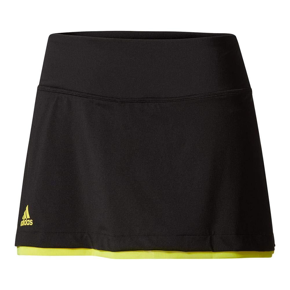 AdidasレディーステニスUSオープンスカート Medium ブラック B01N7L2HYO, カギと錠のクローバー 5e563eb3