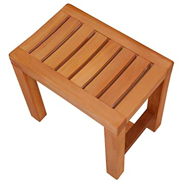 Phenomenal Amazon Com Bath Stool Wooden Foot Stool Step Stool Shoe Ibusinesslaw Wood Chair Design Ideas Ibusinesslaworg