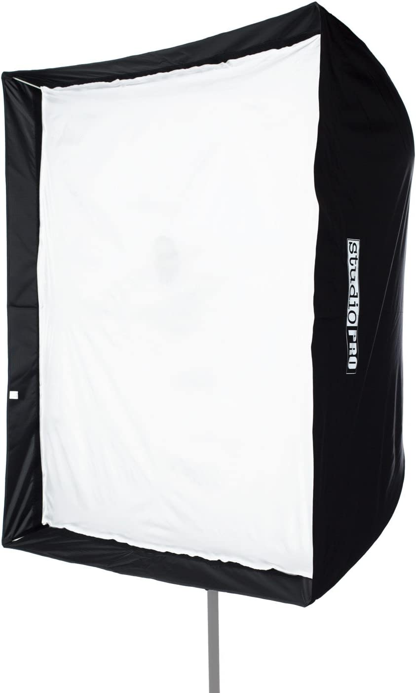 """Fovitec - 1x 50"""" Photography Speedlight Softbox - [Easy Set-up][Durable Nylon][Collapsible][Grid Not Included][Lightweight]"""