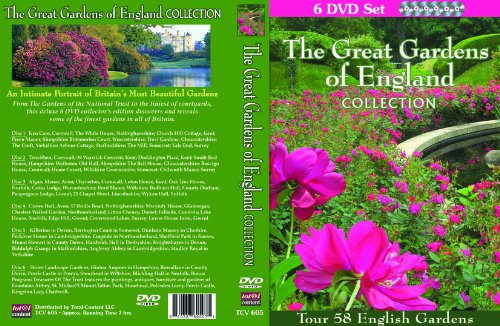 Amazon The Great Gardens Of England Collection 6 DVD Set Tour 58 English In This Intimate Portrait Britains Most Beautiful