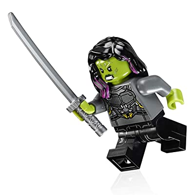 LEGO Super Heroes: Guardians of The Galaxy Vol. 2 Minifigure - Gamora (Silver Armor): Toys & Games