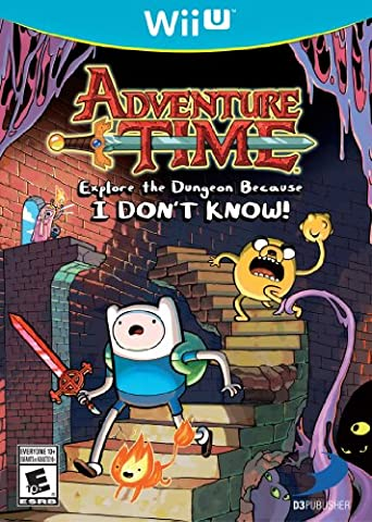 Adventure Time: Explore the Dungeon Because I DON'T KNOW! WiiU (Jake Wii)