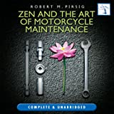 Front cover for the book Zen and the Art of Motorcycle Maintenance by Robert M. Pirsig