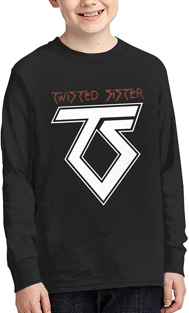 Twisted Sister Band Old School Rock Youth Long Sleeve T-Shirt