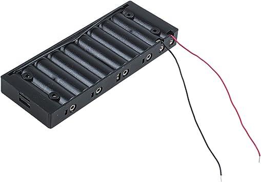 Gaoominy 3pzs 2 Cables lambres Negro Plastico Clip Soporte Caja de ...