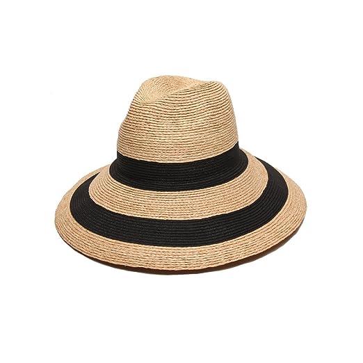 b0120bd9e13 Gottex Women s Newport Raffia Toyo Fedora Sun Hat