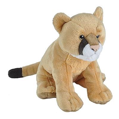 Wild Republic Mountain Lion Plush, Stuffed Animal, Plush Toy, Gifts for Kids, Cuddlekins 12 Inches: Toys & Games [5Bkhe2005153]