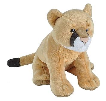 Amazon Com Wild Republic Mountain Lion Plush Stuffed Animal Plush