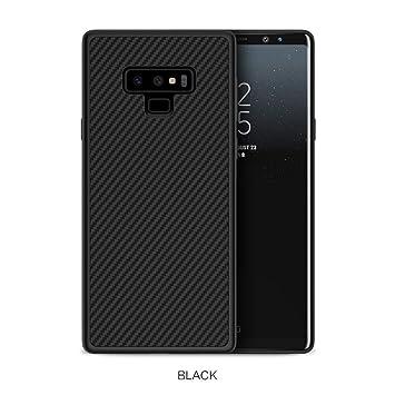 Nillkin Funda Samsung Galaxy Note 9, Ultra Delgada y Liviana Funda Protectora y antichoque para Fibra de Carbono para Samsung Galaxy Note 9, ...